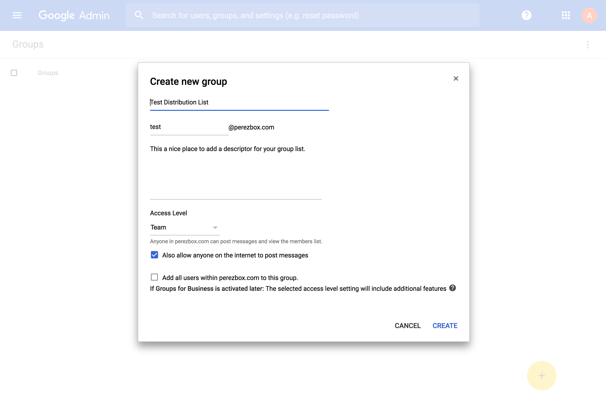 How to Create a Google Email Distribution List