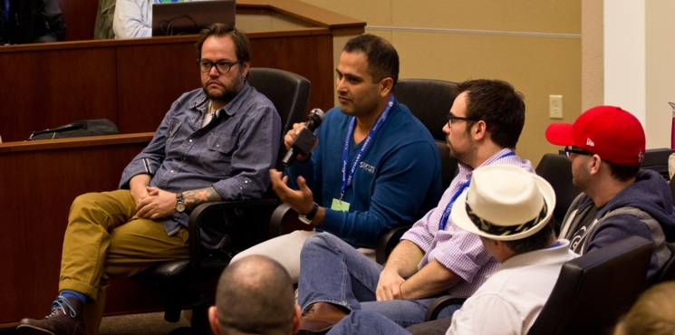 WordCamp Minneapolis 2014 WordPress Products Panel with Tony Perez