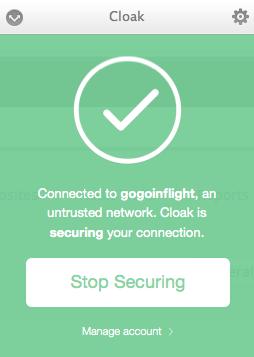GetCloak-Configuration
