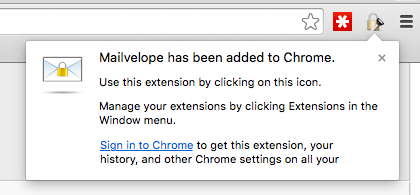 Mailvelope Chrome Extension